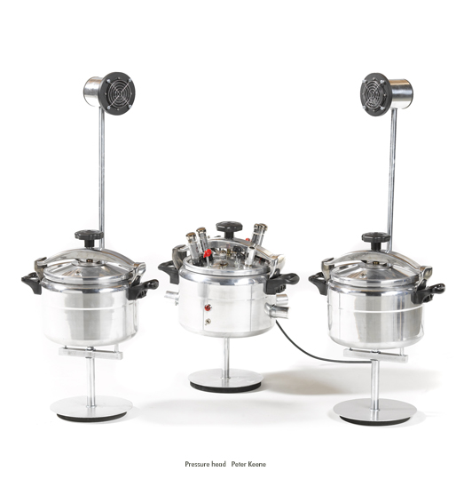 Amplifier pressure cooker hifi Peter Keene